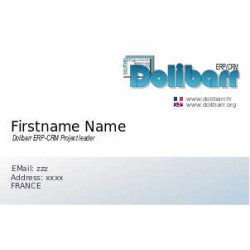 Dolibarr business card