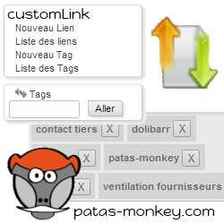 CustomLink, improving links between elements