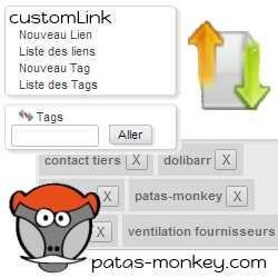 customLink, amélioration des liens entre éléments