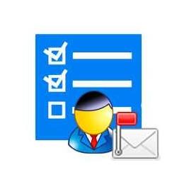 Notification des tâches e-mail