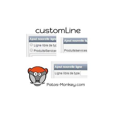 customLine, Produkten / Dienstleistungen ergriffen Improvement