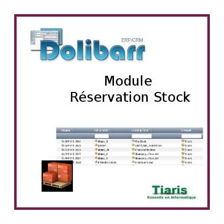 Resastock : Réservation de stock