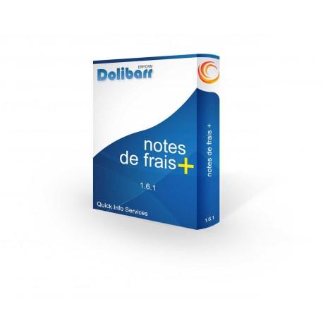 Notes de frais+ pour Dolibarr 3.6