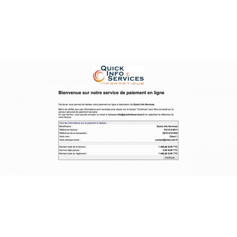 Paiement bancaire cyberplus pour dolibarr 3 6 - Cyberplus paiement net ...