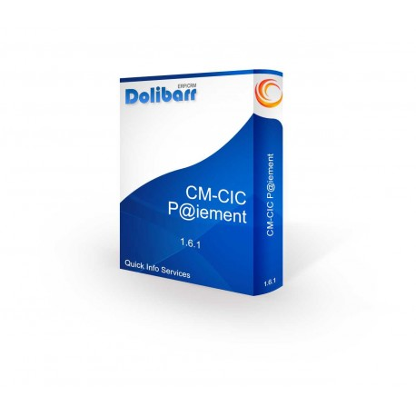 Paiement bancaire CMCIC pour Dolibarr 3.6