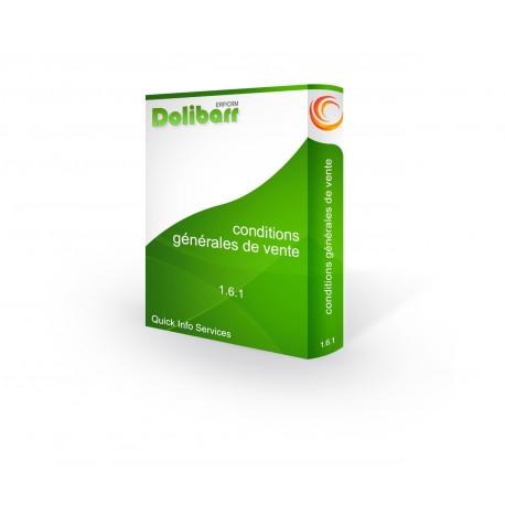 Conditions générales de vente pour Dolibarr 3.7