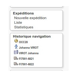 Cronologia di navigazione