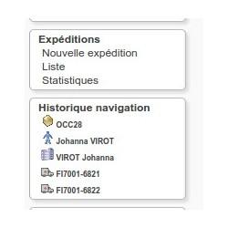 Historique de navigation