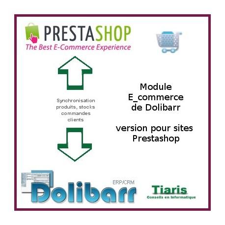 Tiaris Dolipresta Gestion e-commerce de Dolibarr pour Prestashop