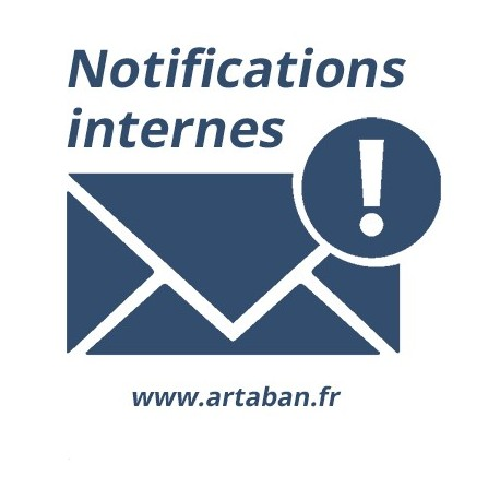 Internal notifications