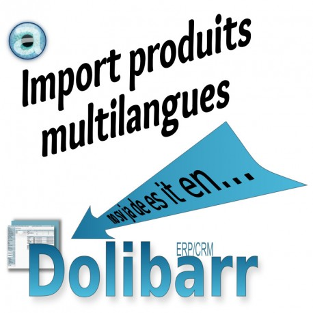 Import des traductions des produits