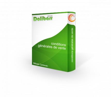 Conditions générales de vente pour Dolibarr 3.8