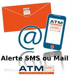 Alerte SMS ou mail