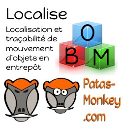 Localise : object and localisation creation - monitoring objects movements