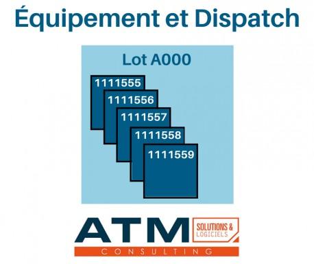 Équipement et Dispatch 3.8.0 - 11.0.x