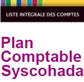 Plan comptable Syscohada 3.8 - 4.0