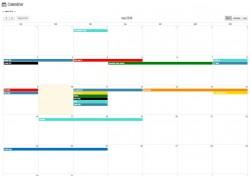 Calendrier Agenda interactif