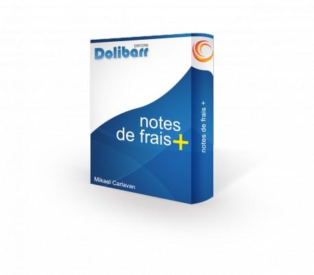 Notes de frais+ pour Dolibarr 3.9