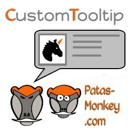 CustomTooltip, información sobre herramientas personalizadas