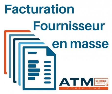 Facturation fournisseur en masse 3.8.0 - 3.8.x