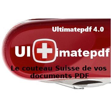 Ultimatepdf 4.0+Support technique 4.0.0 - 4.0.0