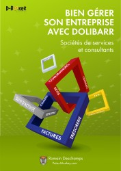 French Dolibarr book for independent consultants and service companies