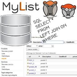 myList : presonalized dynamic Lists