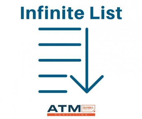 Infinite List 6.0.x - 12.0.x