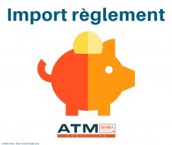 Import règlement