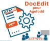 DocEdit pour Agefodd 6.0.0 - 6.0.x