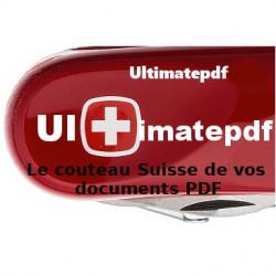 Ultimatepdf 7.0+Support technique