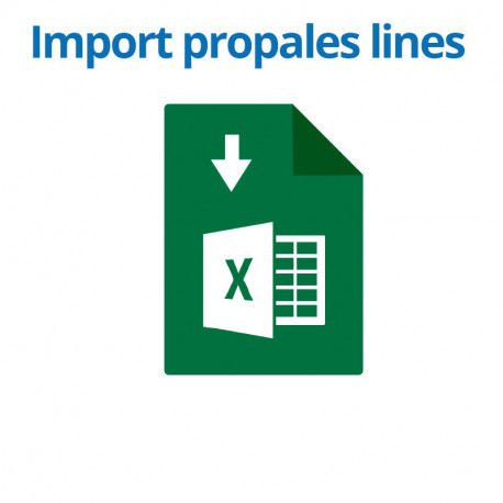 Import propal lines