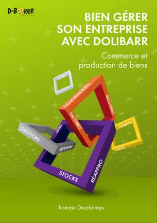 French Dolibarr book for for companies that produce or market goods