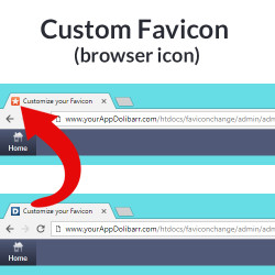 Custom Favicon (browser icon)