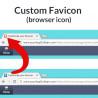 Favicon personnalisée (icône de navigateur)