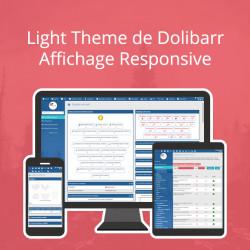 Light Theme for Dolibarr 11.0.*