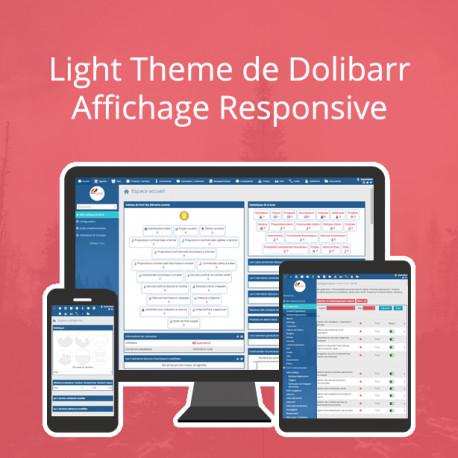 Light Theme de Dolibarr 6.0.0 - 13.0.0