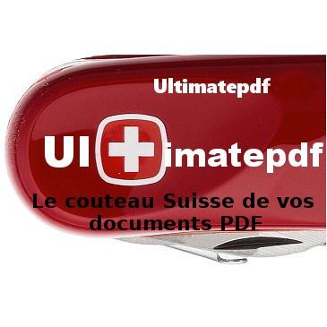 Ultimatepdf 8.0 + support technique