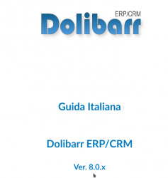 Dolibarr 8.0 Italian Manual