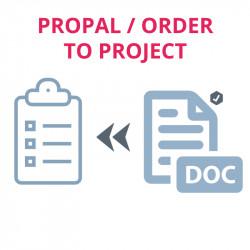 Vorschlag oder Befehl in Aufgabe und Projekt umwandeln