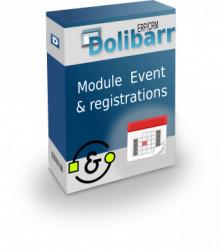 Event - événement et d'inscriptions
