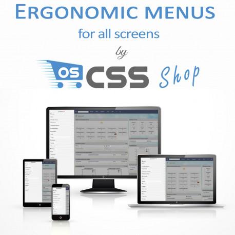 Ergonomic menus for all screens - Mmenu