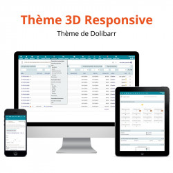 Theme 3D Responsive