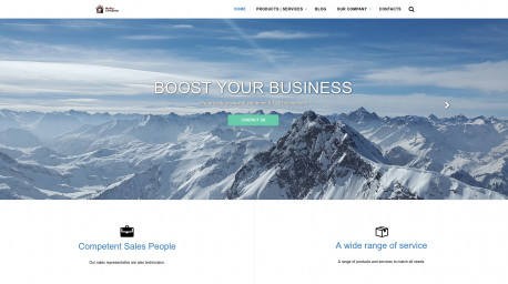 Corporate web site template 10.0.*