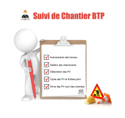 Follow-up of building sites - BTP 11.0.*