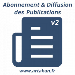 Subscription and diffusion of publications - 8.0/12.0