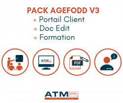 Pack Agefodd V3 + Portail Client + Doc Edit + Formation 8.0.x - 10.0.x