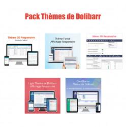Pack thèmes Dolibarr