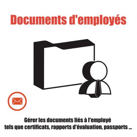 Gestion des Documents des employés GED 6.0 - 13.0.0