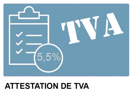 Simplified VAT certificate